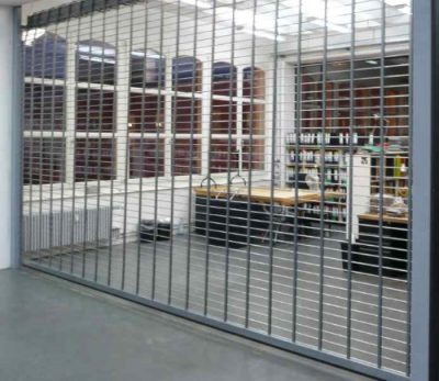 Rolling Grille Stainles Steel