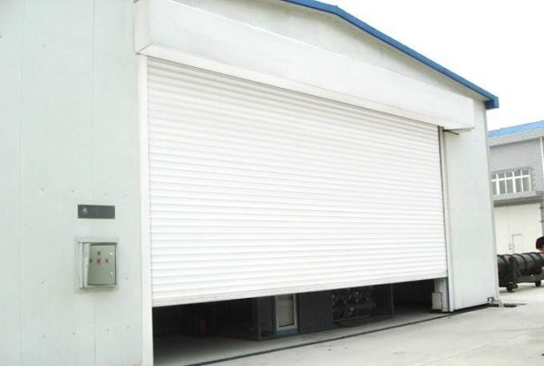 rolling door motorized